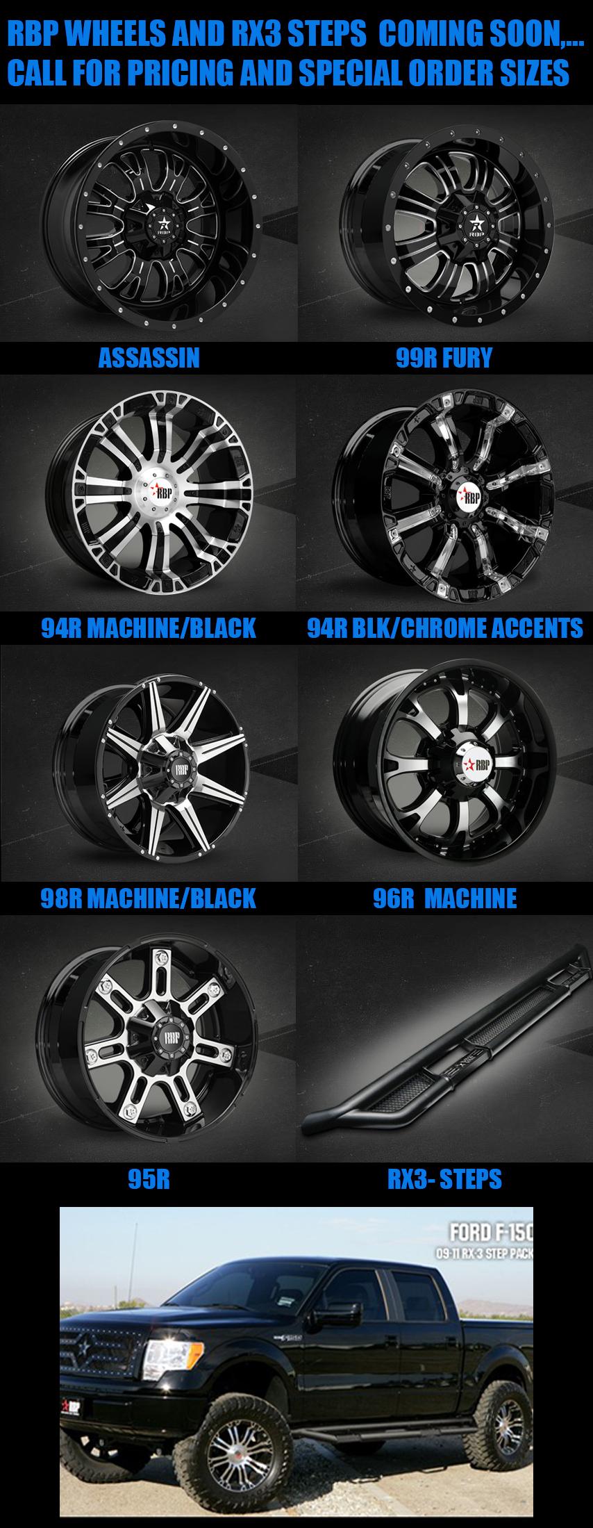 RBP Wheels list